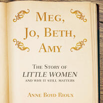 Title page of the book Meg, Jo, Beth, Amy