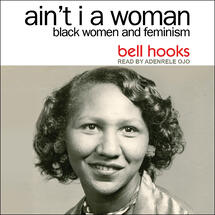 Black and white image of Bell Hooks as a young woman