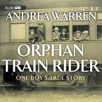 Cover art: Black and white photo of children hanging out of train car windows
