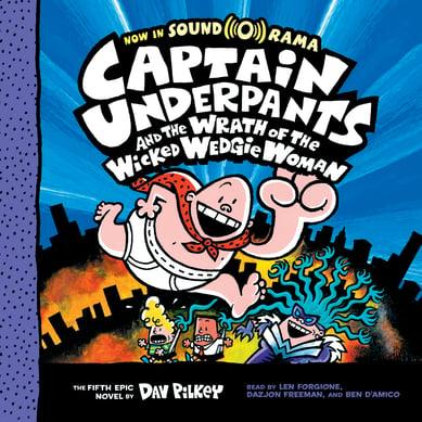 Captain Underpants Wedgie Woman