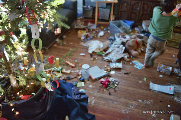 Christmas Aftermath Flickr