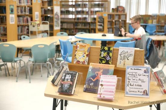 GVJHS book display copy