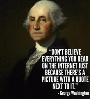 George Washington Meme