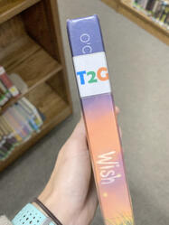 Wish book with T2g spine label