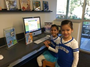 Alcuin School Library Listening Center