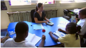 small group guided reading listening