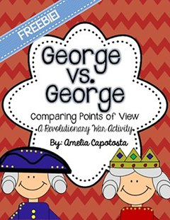 george vs. george audio book