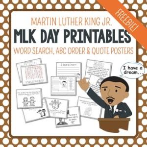 MLK Printables