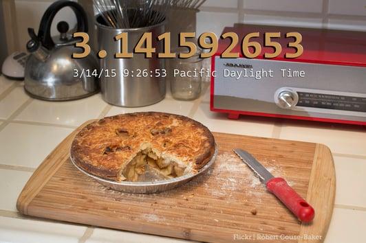 Pi Day Pie c/o Robert Crouse-Baker