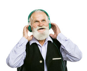 Santa Headphones