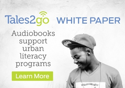 Audiobooks support literacy programs